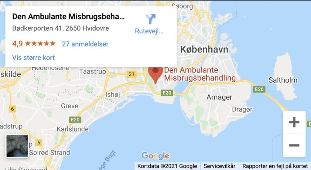 Den Ambulante Misbrugsbehandling - Bødkerporten 41, 2650 Hvidovre